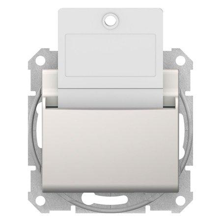 Hotelový vypínač krémová Sedna SDN1900123 Schneider Electric