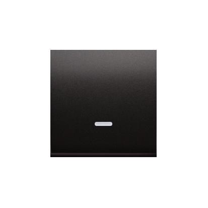 Kontakt Simon 54 Premium Antracit Jednotná klávesa s očkem pro vypínače/Podsvícené tlačítka, DKW1L/48