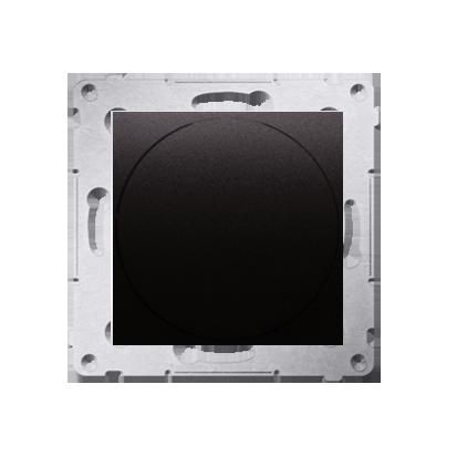 Kontakt Simon 54 Premium Antracit Stmívač přítlačný a otočný (modul) 20–500 W, DS9T.01/48