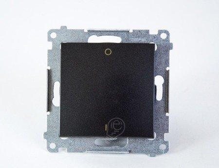 Kontakt Simon 54 Premium Antracit Vypínač dvoupólový rychlospojka, DW2.01/48