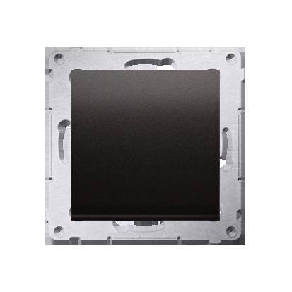 Kontakt Simon 54 Premium Antracit Vypínač jednonásobný (modul) X šroubové koncovky, DW1A.01/48