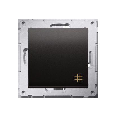 Kontakt Simon 54 Premium Antracit Vypínač křížový (modul) X šroubové koncovky, DW7A.01/48