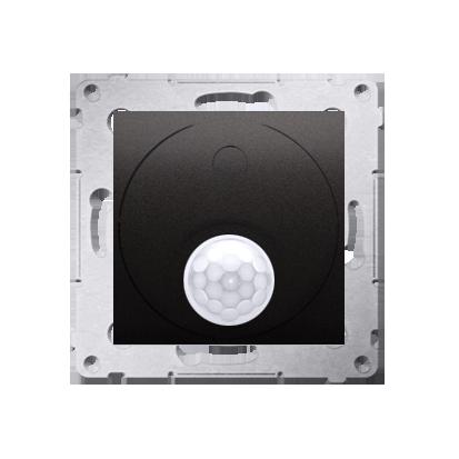 Kontakt Simon 54 Premium Antracit Vypínač se senzorem pohybu s relé se zabezpečením (modul) DCR11P.01/48