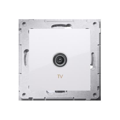 Kontakt Simon 54 Premium Bílý Anténní zásuvka TV jednonásobná (modul) DAK1.01/11