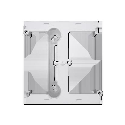 Kontakt Simon 54 Premium Bílý Krabice nástěnná hnebooká (40 mm), rozšiřující díl, DSH/11