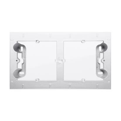 Kontakt Simon 54 Premium Bílý Krytka nástěnné krabičky 2-násobná, DPN2/11