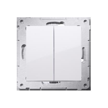 Kontakt Simon 54 Premium Bílý Přepínač sériový (modul) X šroubové koncovky, DW5A.01/11