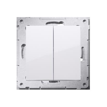 Kontakt Simon 54 Premium Bílý Tlačítko dvojnásobný zkratovací bez piktogramu rychlospojka, DP2.01/11