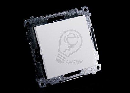 Kontakt Simon 54 Premium Bílý Vypínač jednonásobný (modul) rychlospojka, DW1.01/11