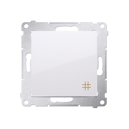Kontakt Simon 54 Premium Bílý Vypínač křížový (modul) rychlospojka, DW7.01/11