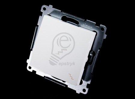 Kontakt Simon 54 Premium Bílý Vypínač schodišťový (modul) X šroubové koncovky, DW6A.01/11