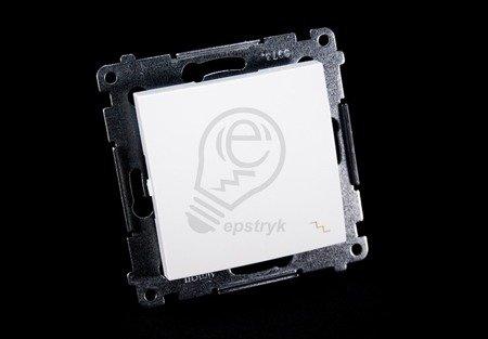 Kontakt Simon 54 Premium Bílý Vypínač schodišťový (modul) rychlospojka, DW6.01/11
