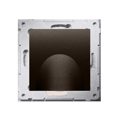 Kontakt Simon 54 Premium Hnědá, matný Kabelový výstup (modul), DPK1.01/46