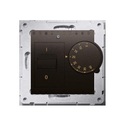 Kontakt Simon 54 Premium Hnědá, matný Regulátor teploty s vnitřním senzorem (modul) DRT10W.02/46