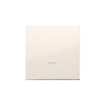 Kontakt Simon 54 Premium Krémová Jednotná klávesa s očkem pro vypínače/Podsvícené tlačítka, DKW1L/41
