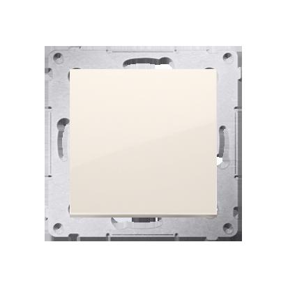 Kontakt Simon 54 Premium Krémová Tlačítko jednopólové rozkratovací bez piktogramu rychlospojka, DPR1.01/41
