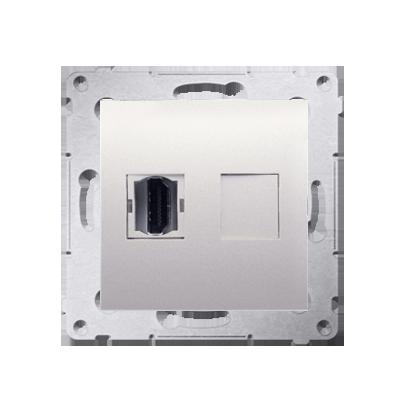 Kontakt Simon 54 Premium Krémová Zásuvka HDMI (modul), DGHDMI.01/41