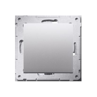 Kontakt Simon 54 Premium Stříbrná Tlačítko jednopólové rozkratovací bez piktogramu rychlospojka, DPR1.01/43