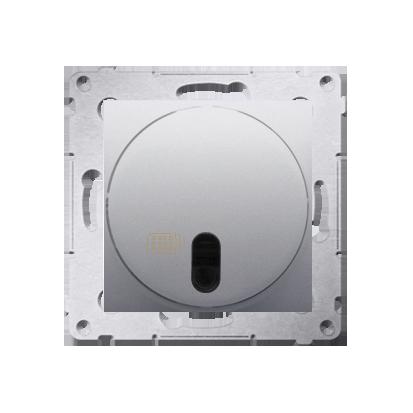 Kontakt Simon 54 Premium Stříbrná Vypínač dálkově ovládaný s relé (modul) DWP10P.01/43