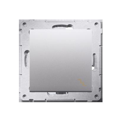 Kontakt Simon 54 Premium Stříbrná Vypínač schodišťový (modul) X šroubové koncovky, DW6A.01/43