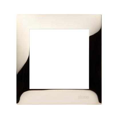 Kontakt Simon 54 Premium Zlatá Rámeček 1-násobný univerzální IP20/IP44, DR1/66