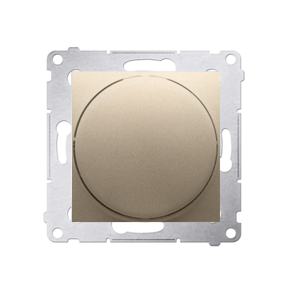 Kontakt Simon 54 Premium Zlatá Stmívač přítlačný a otočný (modul) 20–500 W, DS9T.01/44