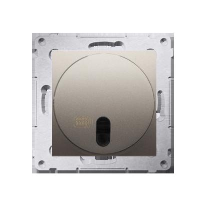 Kontakt Simon 54 Premium Zlatá Vypínač dálkově ovládaný s relé (modul) DWP10P.01/44