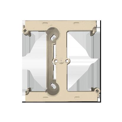 Krabice nástěnná hnebooká (40mm) - rozšiřující díl béžová Kontakt Simon PSH/12