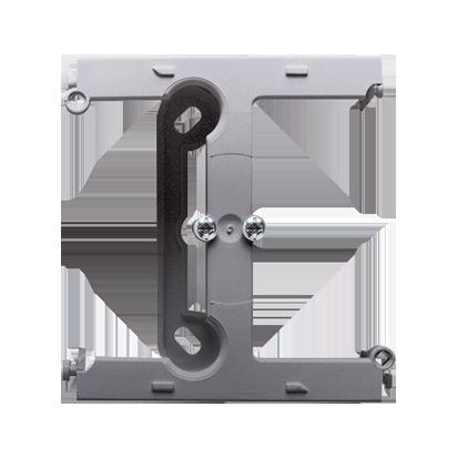 Krabice nástěnná hnebooká (40mm) - rozšiřující díl inox (kov) Kontakt Simon PSH/21