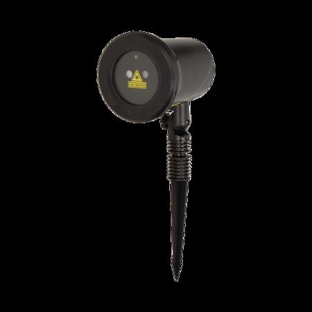 Laserový projektor3D SANTA, IP65, 7 režimů Orno