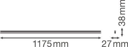 Lineární svítidlo LINEAR COMPACT BATTEN 1200 20W 4000K LEDVANCE