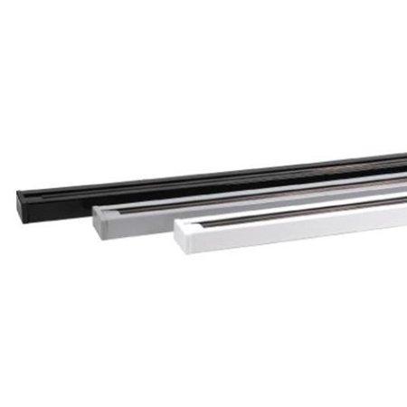 Lišta kolejnice stříbrná 2m Track + napájení a záslepka 02441 Horoz