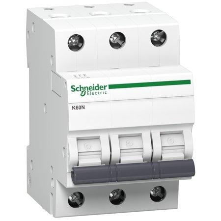 Nadproudový jistič K60N-B25-3 B 25A 3-pólový Schneider Electric A9K01325