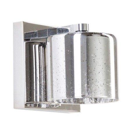 Nástěnná lampa stříbrná 1xG9 Zuma Line Pioli Wall W0369-01A-B5GR