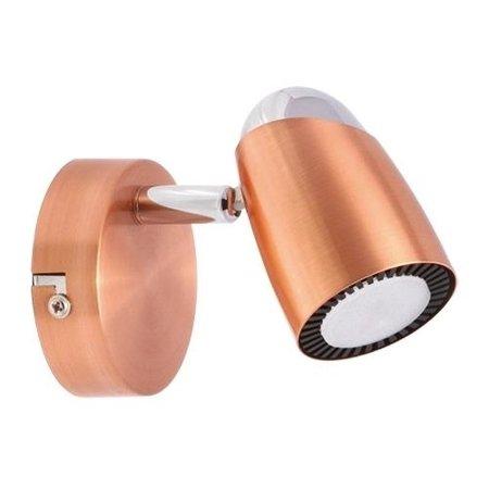 Nástěnné svítidlo LED Ruda 1C 3000K 490lm nerezová ocel, Struhm