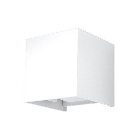 Nástěnné svítidlo LUCA bílá LED IP54 Sollux SL.0544