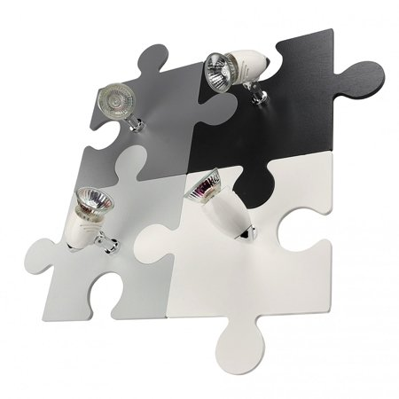 Nástěnné svítidlo Puzzle Gray 4x15W GU10 Nowodvorski 9728