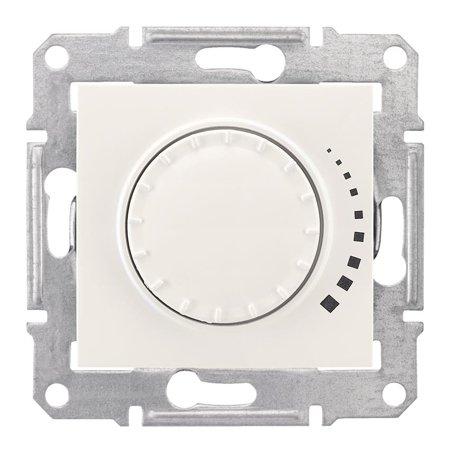 Otočný - tlačítkový stmívač krémová RC 25-325VA Sedna SDN2200723 Schneider Electric