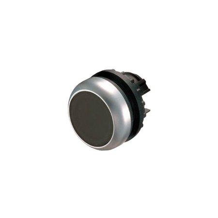 Ovládací černá hlavice tlačítka bez aretace M22-D-S 216590 Eaton