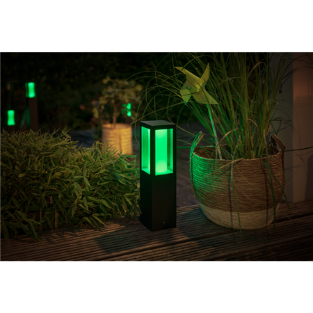 Philips Hue lampa vnější černá Impress 8W White and color ambiance 1745430P7
