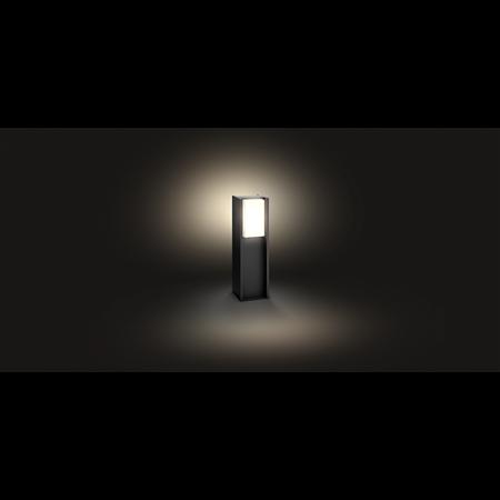 Philips Hue lampa vnější černá Turaco 2700K 1647393P0