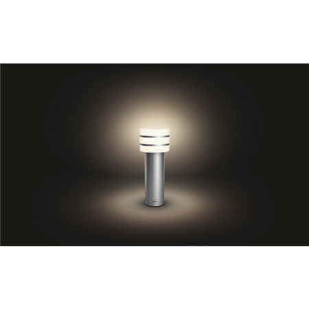 Philips Hue lampa vnější inox Tuar 9,5W 1740547P0