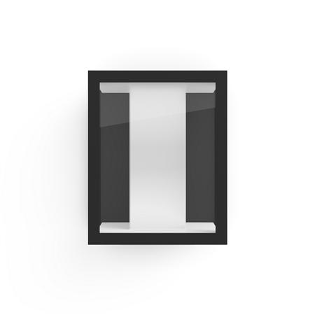 Philips Hue malá nástěnná lampa vnější černá Impress 8W White and color ambianc 1743030P7