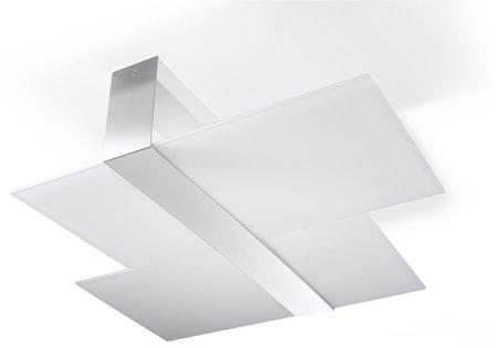Plafon MASSIMO bílá 2xE27 Sollux SL.0188