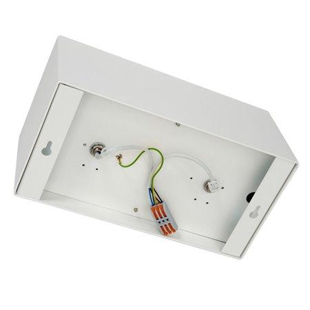 Povrchové svítidlo PLAZA 2xGU10 AR111 Bílé ML4745 Milagro