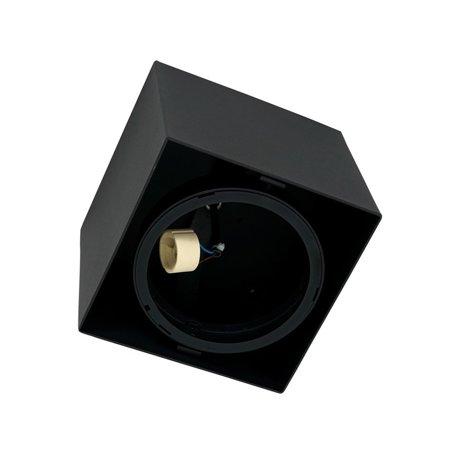 Povrchové svítidlo PLAZA GU10 AR111 Černé ML4744 Milagro
