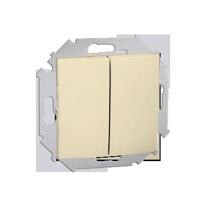 Přepínač sériový (modul) šroubové koncovky, béžová Kontakt Simon 1591398-031