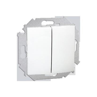Přepínač sériový (modul) šroubové koncovky, bílý Kontakt Simon 1591398-030