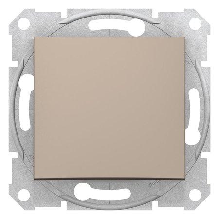 Schodišťový vypínač 10A saténová Sedna SDN0400168 Schneider Electric