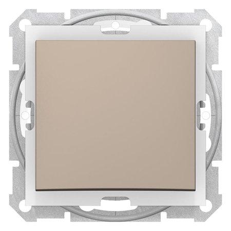 Schodišťový vypínač IP44 saténová Sedna SDN0400568 Schneider Electric